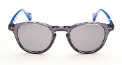 Robert Graham Sunglasses: CALVIN - Crystal/Blue w/Gray Lens