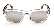 Robert Graham Sunglasses-Sammy-Black/Clear Frame w/Silver Flash