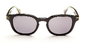 Robert Graham Sunglasses:Robert-Black Frame w/Fabric w/Gray Lens