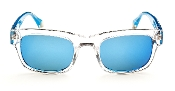 Robert Graham Sunglasses: Sammy-Lt. Blue Frame w/Blue Flash Lens