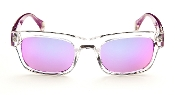 Robert Graham Sunglasses: Sammy-Purple Frame w/Pink Flash Lens