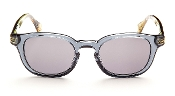 Robert Graham Sunglasses-Robert-Blue Frame w/Fabric w/Gray Lens