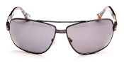 Robert Graham Sunglasses-SkyLine-Black Wire Rim w/Gray Lens