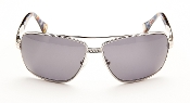 Robert Graham Sunglasses-SkyLine-Silver Wire Rims w/Fabric Tmpl