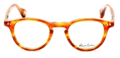Robert Graham Wilson Collection Orange/Crystal Frame