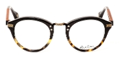 Robert Graham Princeton Collection Black/Tortoise & Mahogany