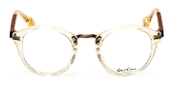 Robert Graham Princeton Collection Beige/Clear Rim w/Mahogany