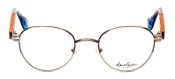 Robert Graham Polk Collection Brown Pewter Wire Rim