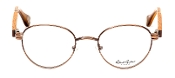 Robert Graham Polk Collection Brown Wire Rim