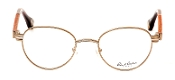 Robert Graham Polk Collection Antiq. Gold Wire Rim