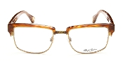 Robert Graham Jackson Collection Brown Frame w/ Gold Wire Rim