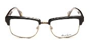 Robert Graham Jackson Collection Black Frame w/Gold Wire Rim